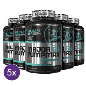 Kit 5x Major GH Pump Max: Precursor de testosterona e GH natural 120 tabs