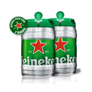 Draft Beer Heineken Pil 5L - 2 Unidades