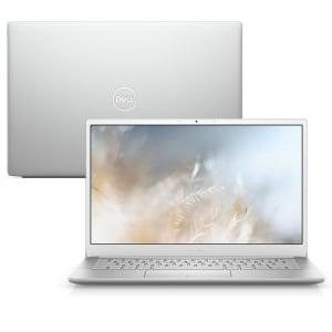"Notebook Ultrafino Dell Inspiron i13-7391-M10S 10ª Ger Intel Core i5 8GB 256GB SSD Full HD 13.3"" Windows 10 Prata"