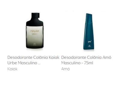 2 Desodorantes Colônia Kaiak Urbe Masculino - 100ml + 1 Desodorante Colônia Amó Masculino - 75ml Amó