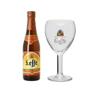 Na compra de 1 Cálice Leffe 330ml GANHE 1 Leffe Triple 330ml