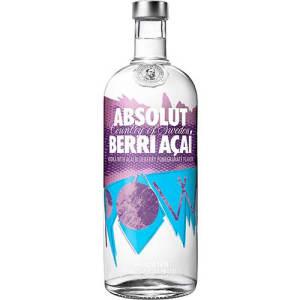 Vodka Absolut Berri Açaí 1 Litro