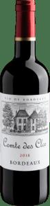 Vinho Comte des Clos Bordeaux AOP 2018 750ml