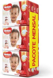 Huggies Pacote Mensal Supreme Care Mega G - 192 Fraldas