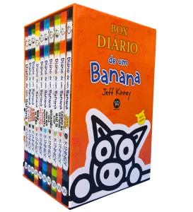 Box de Livros Diário de Um Banana (10 Volumes) - Jeff Kinney
