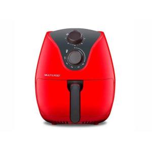 Fritadeira Elétrica / AirFryer Multilaser Sem óleo CE083 Vermelho 4L 1500W 110V