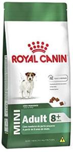 Ração Royal Canin Mini Cães Adultos +8 Anos 1kg Royal Canin