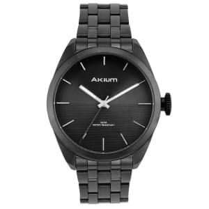 Relógio Akium Masculino Aço Preto - TMG6982N2 - BLACK