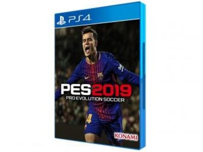 PES 2019 Pro Evolution Soccer para PS4 - Konami Pré-venda