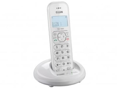 Telefone Sem Fio Elgin TSF 7600 - Identificador de Chamada Viva Voz Conferência - Magazine Ofertaesperta