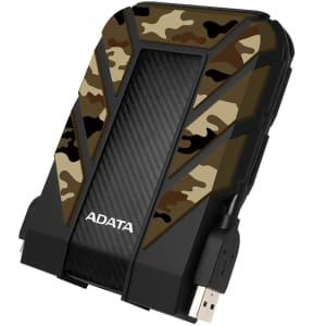 HD Externo Adata Anti-Queda à Prova D'água IPX68 Durable HD710 Pro USB 3.1 1TB 2.5' Camuflado - AHD710MP-1TU31-CCF