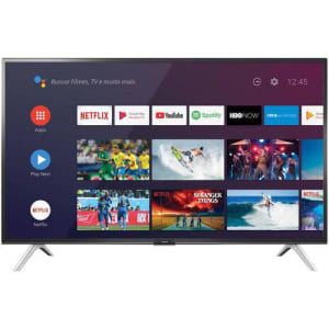 "Smart TV Android LED 32"" Semp 32S5300 Bluetooth 2 HDMI 1 USB Controle Remoto com Comando de Voz e Google Assistant"