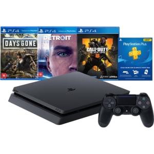 [Cupom: SALDAO200] Console Playstation 4 1 Tb Hits Bundle Edição 5.1 - PS4