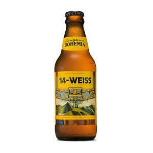 3 Unidades - Cervejas Bohemia 14 Weiss 300ml