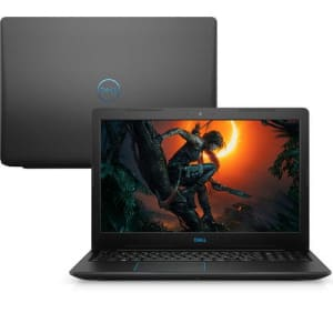 "Notebook Gamer Dell G3-3579-U20P 8ª Geração Intel Core i7 8GB 1TB GTX 1050Ti 15.6"" FHD Linux"