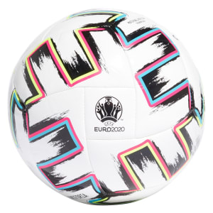 Bola de Futsal Adidas Euro 2020 Uniforia Match Ball Replica Training Sala - Branco e Preto
