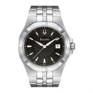 Relógio Masculino Bulova, Analógico, Pulseira de Aço, Caixa 3,8 cm, Resistente à Água 10 Atm - WB21614T