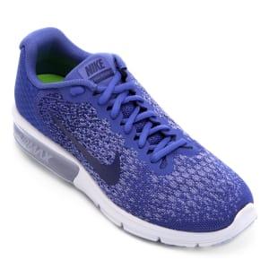 Tênis Nike Air Max Sequent 2 Feminino - Azul Royal