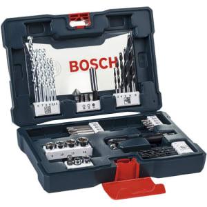 Jogo de Brocas Soquetes e Bits Kit V-Line 41 peças Bosch