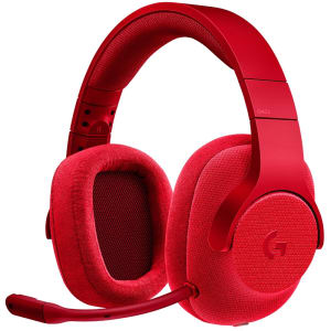 Headset Gamer Logitech G433 7.1 Surround Vermelho