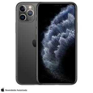 """iPhone 11 Pro Cinza Espacial, com Tela de 5,8"""", 4G, 64GB e Câmera de 12 MP - MWC22BZ/A"""