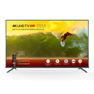 Smart TV LED 65´ 4K TCL, Android TV, 3 HDMI, 2 USB, Bluetooth, Wi-Fi, HDR, Chumbo - 65P8M