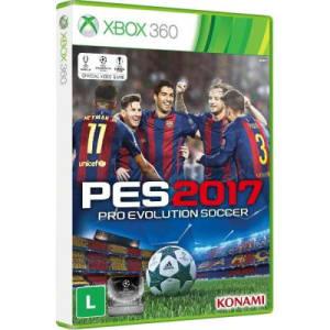 Jogo Pro Evolution Soccer 2017 - Xbox 360