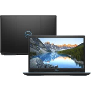 "Notebook Dell Gaming G3-3590-a30p 9ª Intel Core I7 8GB (geforce Gtx1660ti com 6GB) 1TB + 128gb SSD Tela 15,6"" Windows 10 - Preto"