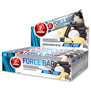 Kit Force Bar Protein 60 Unidades Midway