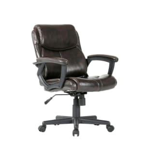 Cadeira De Escritório Marrom - 6144-BR