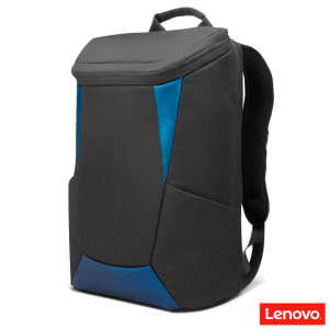 "Mochila IdeaPad Gaming Lenovo até 15.6"" para notebook GX40Z24050 - Preto e Azul"