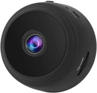 Mini Câmera Wifi Portátil Metal Case Câmeras Visão Noturna H