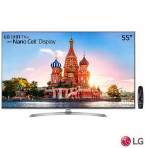 """Oferta ➤ Smart TV 4K LG LED 55"""" Nano Cell™ Display, webOS 3.5, Harman/kardon, Controle Smart Magic – 55UJ7500 – LG55UJ7500_PRD   . Veja essa promoção"""