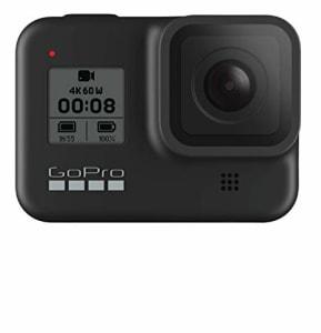 """GoPro Hero 8 Black 12MP 4K Wi-Fi Bluetooth - 2"""" à Prova dÁgua com Bateria e Carregador"""