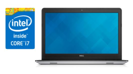"Notebook Dell Inspiron I15-5548-C20 Prata Processador Intel®Core™I7-5500U 8Gb HD 1Tb 15.6"" Touch W10 (Cód: 9205059)"