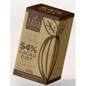 Ovo De Páscoa 54% Cacau Diet 250g - Java