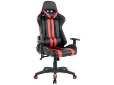 Cadeira Gamer Nell Reclinável - Preta e Vermelha GAM-001