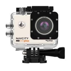 Câmera Esportiva Navcity NG-100 Plus 4K +Case à Prova d'água 30m + bastão selfie