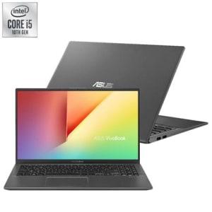 """Notebook Asus VivoBook 15 , Intel® Core™ i5 10210U, 8GB, 1TB, Tela de 15,6"""", Nvidia MX110, Cinza - X512FB-BR501T"""