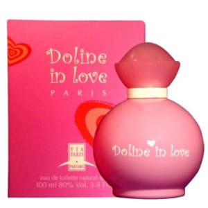 Perfume Via Paris Doline in Love Feminino Eau de Toilette 100ml