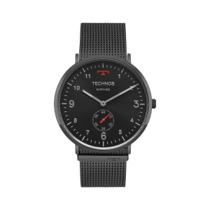 Relógio Technos Slim Unissex Cinza Analógico 1L45AW/4P