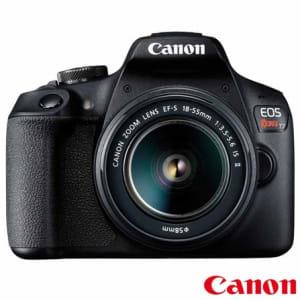 """Câmera Digital Canon EOS Rebel T7 DSLR com 24.1 MP, 3"""", Gravação em Full HD - 2727C010AA"""