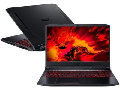 Notebook Gamer Acer AN515-55-54L9 Intel Core i5 - 8GB 256GB SSD Placa de Vídeo NVIDIA GTX 1650 4GB - Magazine Ofertaesperta