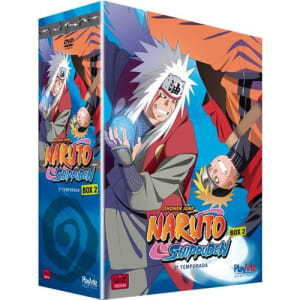 DVD Box 2 Naruto Shippuden - 2ª Temporada - 5 Discos