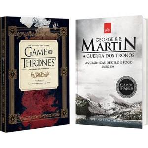 Oferta ➤ Livro – Guia HBO Game of Thrones + Guerra dos Tronos   . Veja essa promoção