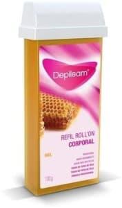 Cera Refil Roll-On Mel Caixa , Depilsam, 100g
