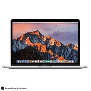 "MacBook Pro, Intel® Core™ i5, 8GB, 256GB, Tela de 13,3"", Touch Bar, Prata - MPXX2BZ/A"