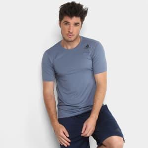 Camiseta Adidas Freelift Fitted Masculina - Prata