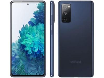 "Smartphone Samsung Galaxy S20 FE 128GB Cloud Navy - 6GB RAM Tela 6,5"" Câm. Tripla + Selfie 32MP - Magazine Ofertaesperta"