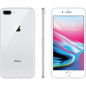"iPhone 8 Plus Prata 64GB Tela 5.5"" IOS 11 4G Wi-Fi Câmera 12MP - Apple"